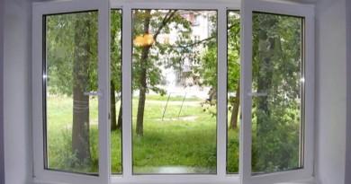 На фото показано современное пластиковое окно