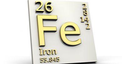 Свойства железа - плотность, теплоемкость, теплопроводность
