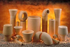 Теплопроводность, теплоемкость и плотность керамики и огнеупоров