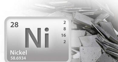 Плотность никеля, теплоемкость, теплопроводность