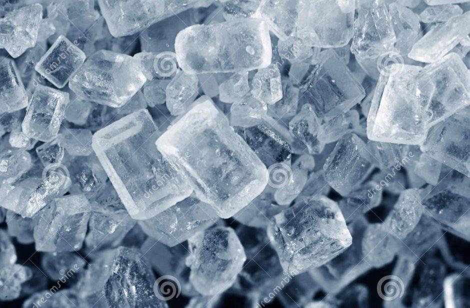 Как сделать кристаллы из соли за 1 день видео