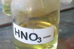 Свойства и плотность азотной кислоты