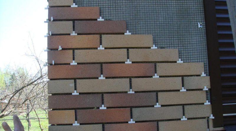 Клинкерная плитка для фасада дома