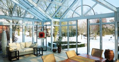 Виды зимних садов
