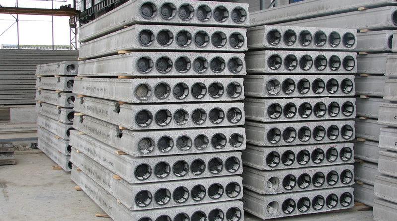 Пустотные железобетонные плиты перекрытий ПБ