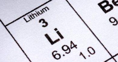Свойства лития, плотность лития, теплопроводность, теплоемкость