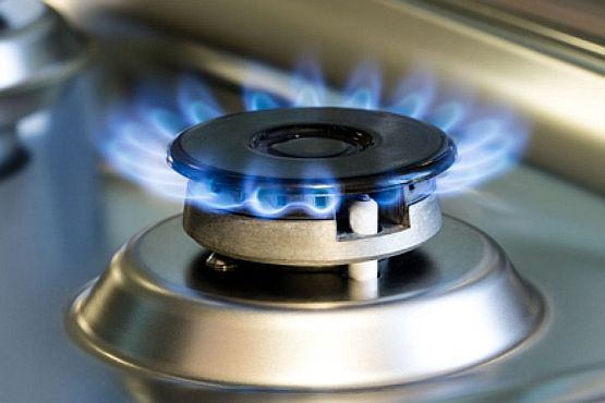 Горение газа в газовой плите